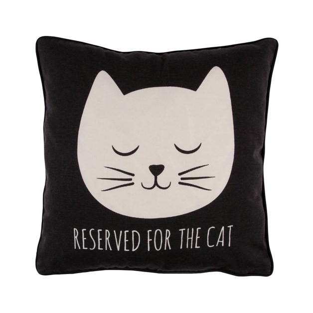 Cat's Whiskers Reserved For The Cat Cushion With Inner