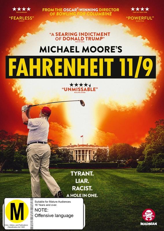 Fahrenheit 11/9 on DVD
