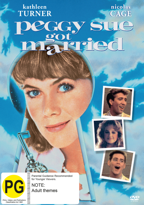 Peggy Sue Got Married on DVD