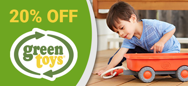 20% off Green Toys!