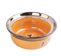 Pawise: Dog Gold Bowl - 1100ml/Golden