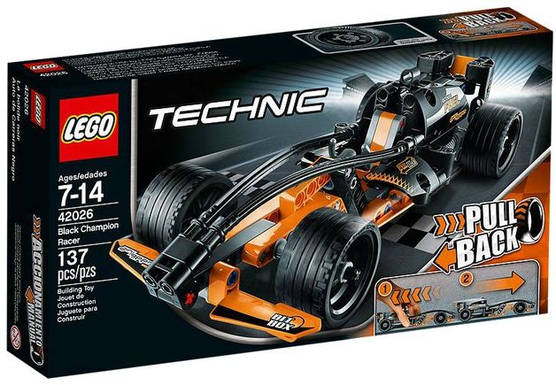 LEGO Technic - Black Champion Racer (42026)