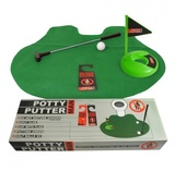 MAN: Potty Putter - Mini Golf Gag Gift Set