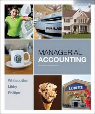 Managerial Accounting by Stacey M Whitecotton image