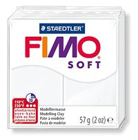 Staedtler Fimo Soft Modelling Clay Block - White (56g)