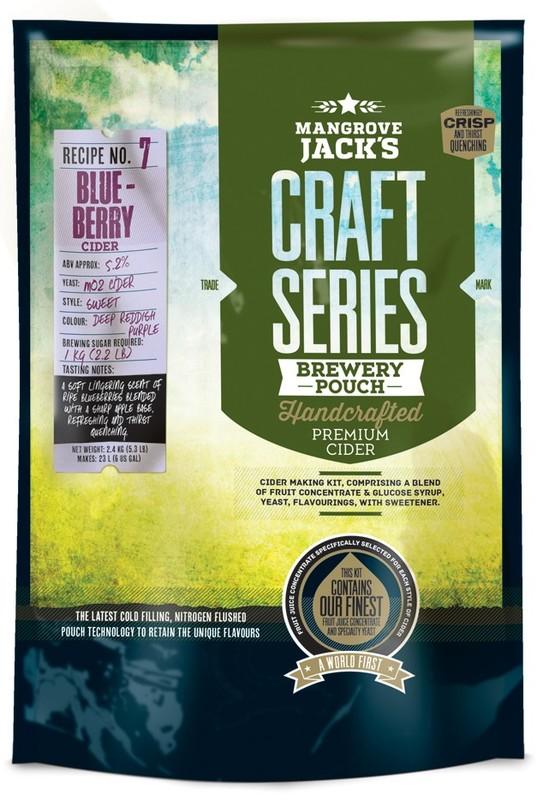 Mangrove Jack's Craft Series Craft Series Blueberry Cider (2.4kg)