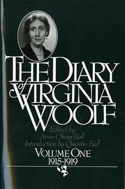 The Diary of Virginia Woolf, Volume 1 by Virginia Woolf (**) image