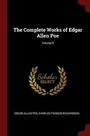 The Complete Works of Edgar Allen Poe; Volume 9 by Edgar Allan Poe image