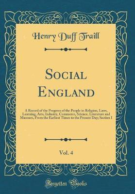 Social England, Vol. 4 by Henry Duff Traill image