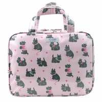 Wicked Sista Large Hold All Cosmetic Bag - Scotty Dogs