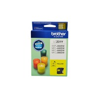 Brother LC-231Y Ink Cartridge (Yellow)