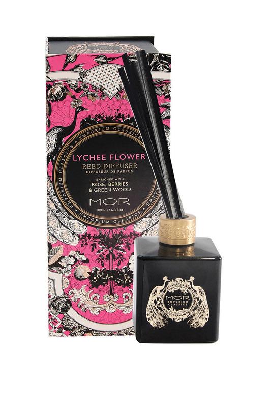 MOR Emporium Classics: Lychee Flower Reed Diffuser 180ml
