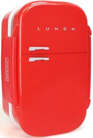 Fridge Box Lunch Box - Red