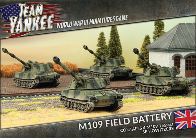 Flames of War: Team Yankee - M109 Field Battery