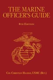 The Marine Officer's Guide by Christian N. Haliday image
