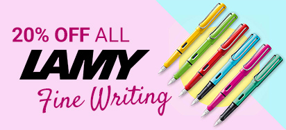 20% off Lamy Fine Writing