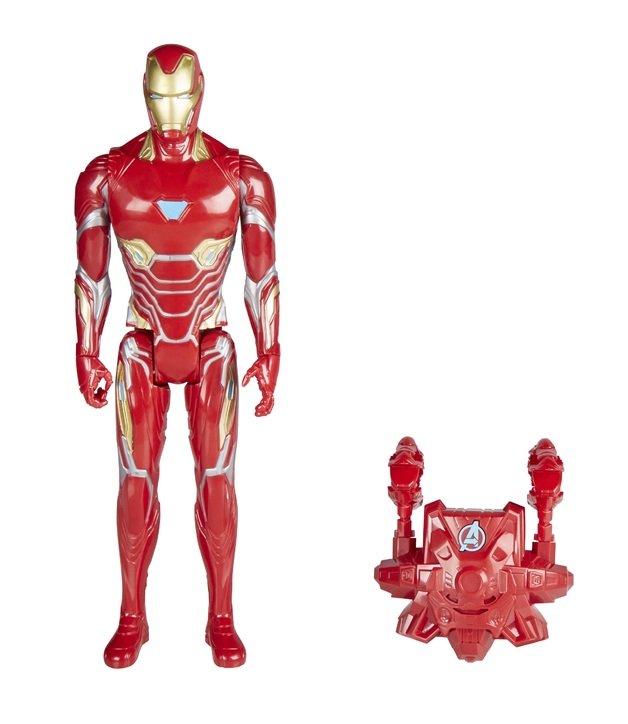 "Avengers Infinity War: Power FX Iron-Man - 12"" Titan Hero Figure"