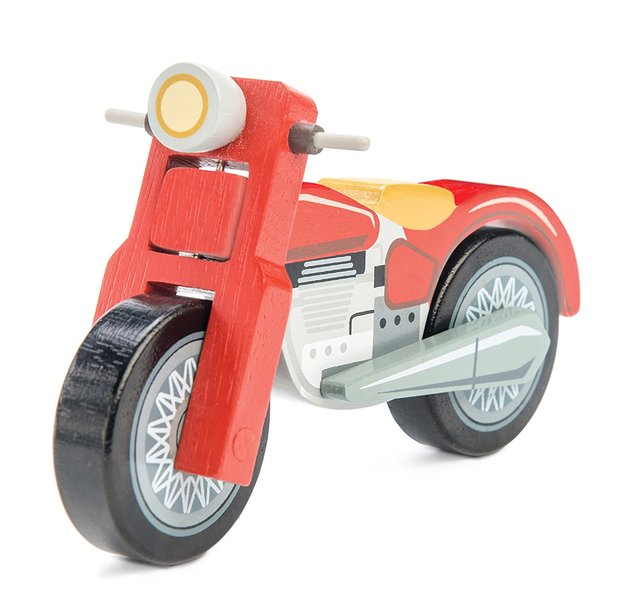 Le Toy Van: Motorbike - Wooden Vehicle