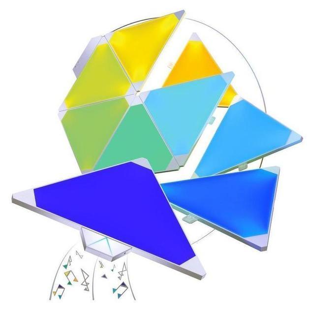 Nanoleaf Light Panels Smarter Kit (incl Rhythm/9 panels)