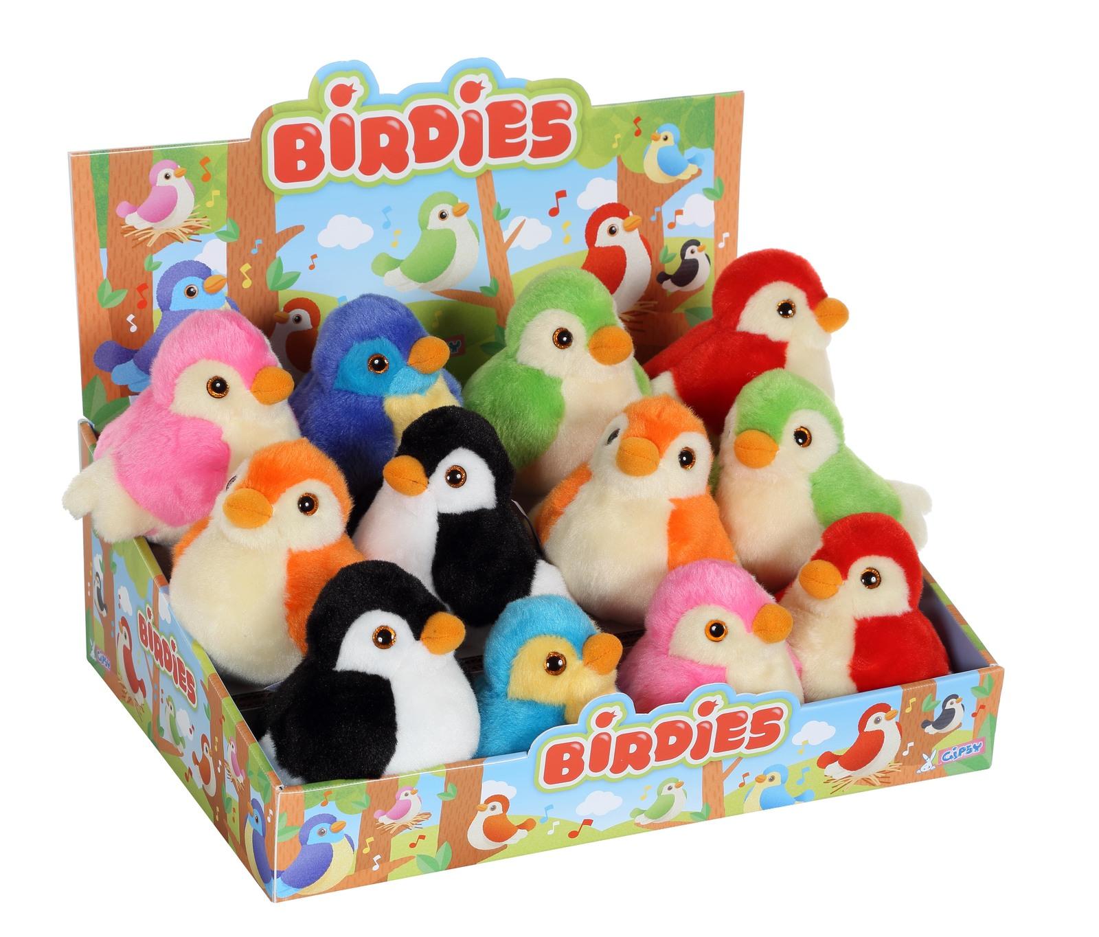 Birdie - Plush with Sound (Assorted Designs) image