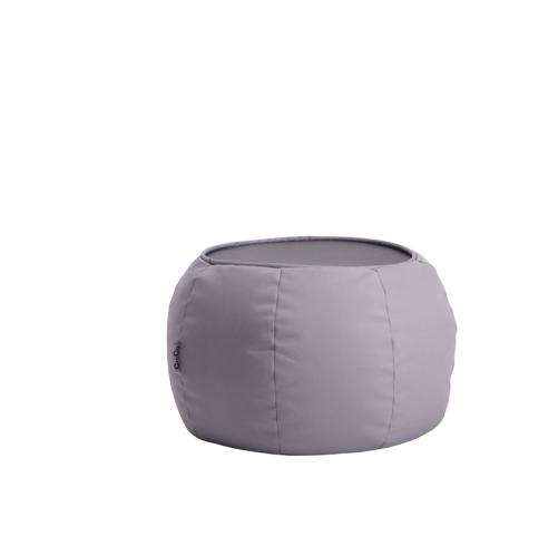 Croco Neo In & Outdoor Side Bean Bag Table - Grey