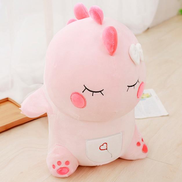 Cute Dino Plush - Pink (40cm)