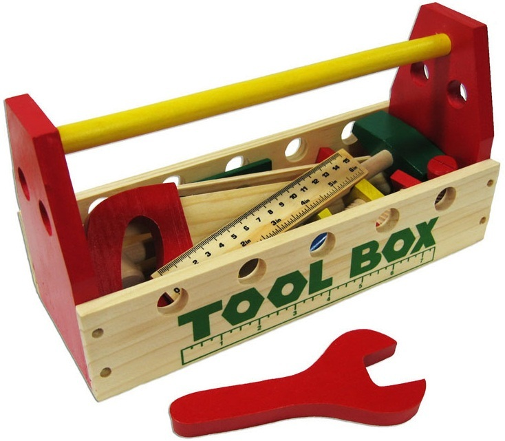 Fun Factory: Wooden Tool Box Set image