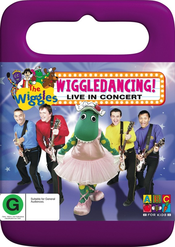 The Wiggles - Wiggledancing!: Live In Concert on DVD