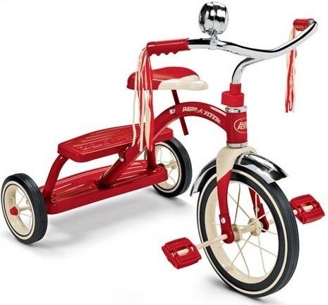 Radio Flyer - Classic Red Dual Deck Trike