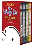 "Diary of a Wimpy Kid ""Box of Books"" Box Set(1st 4 Books) by Jeff Kinney"