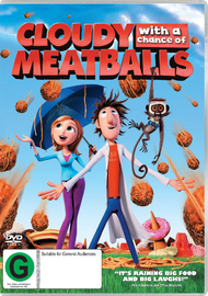 Cloudy with a Chance of Meatballs on DVD