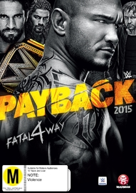 WWE - Payback 2015 on DVD