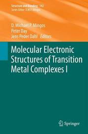 Molecular Electronic Structures of Transition Metal Complexes I