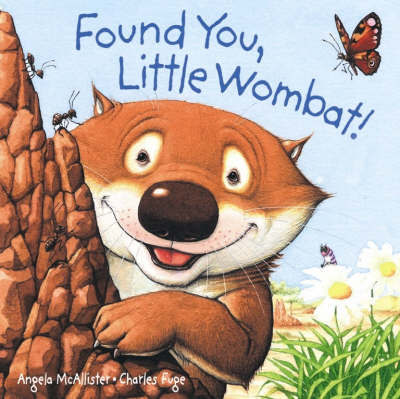 Found You, Little Wombat! Board Book by Angela McAllister