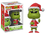 Dr Seuss: Santa Grinch - Pop! Vinyl Figure (with a chance for a Chase version!)