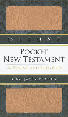 Deluxe Pocket New Testament with Psalms and Proverbs-KJV image
