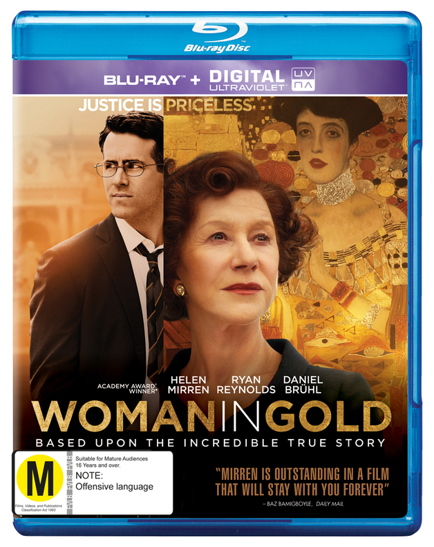The Woman in Gold on Blu-ray