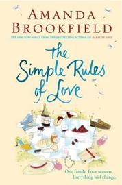 The Simple Rules of Love by Amanda Brookfield image