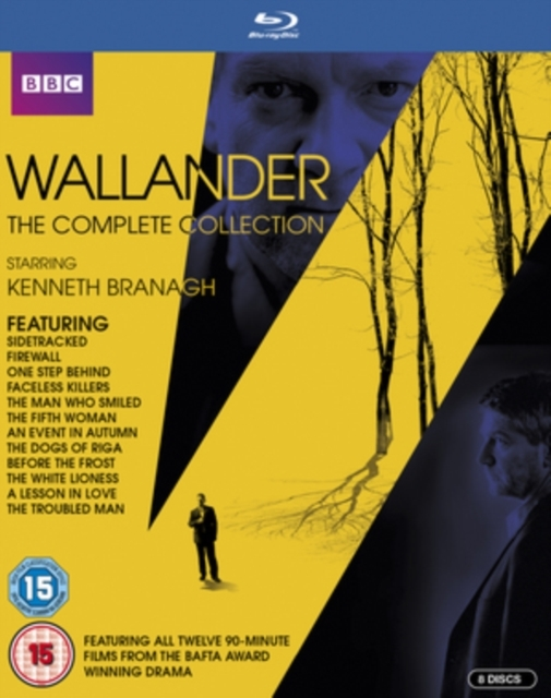 Wallander The Complete Collection on Blu-ray