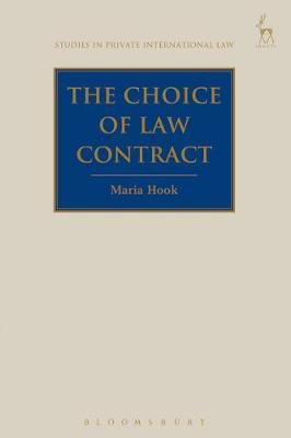 The Choice of Law Contract by Maria Hook image