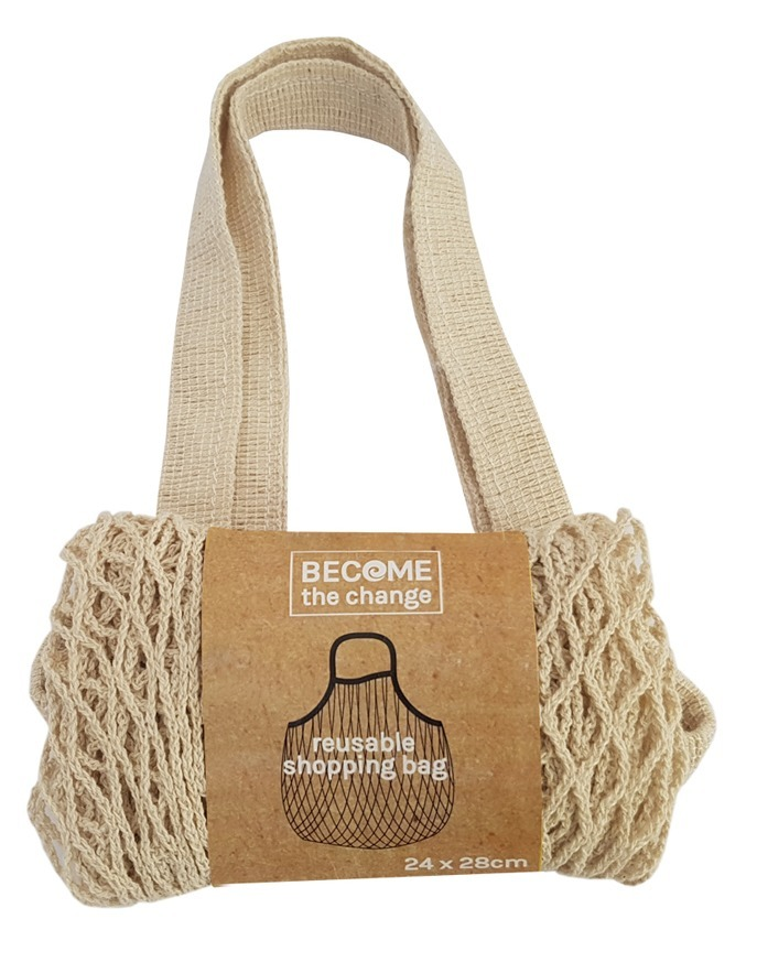 Become The Change - Reusable Cotton Shopping Tote image