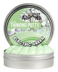 Crazy Aarons Thinking Putty: Mini Tin - Electric Green