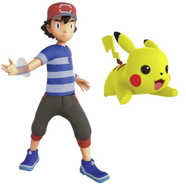 Pokemon: Deluxe Action Figure - Ash & Pikachu