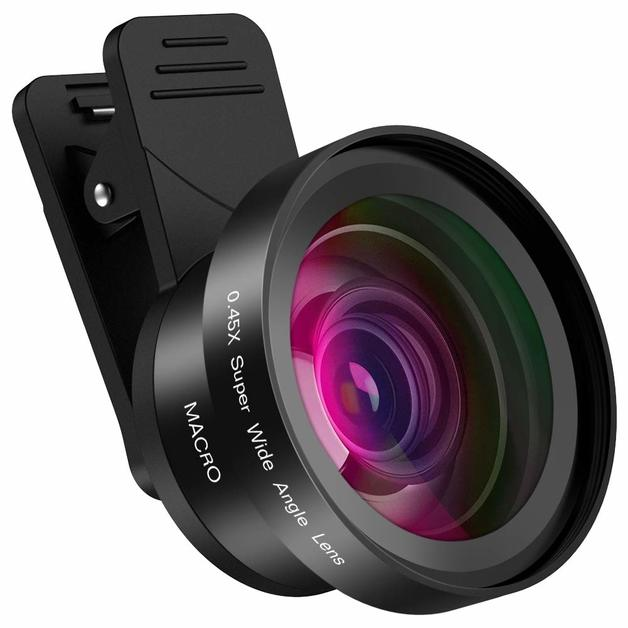 Cell Phone Camera Lens 2 in 1 for Smartphone