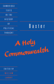 Cambridge Texts in the History of Political Thought by Richard Baxter