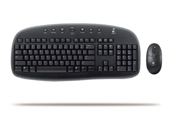 Logitech EX90 Cordless Desktop image