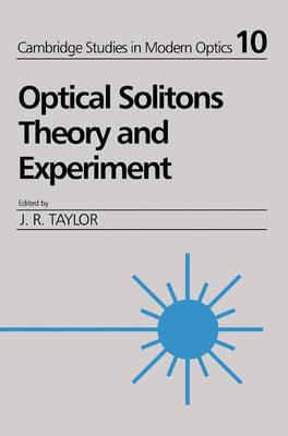 Cambridge Studies in Modern Optics: Series Number 10
