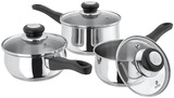 Judge Vista - 3 Pce Set - 14/16/18cm Saucepans