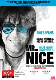 Mr Nice on DVD
