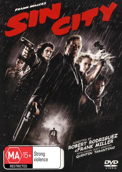 Sin City on DVD image